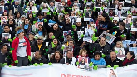 Miles de personas piden ante el Capitolio una solución para los 'dreamers'