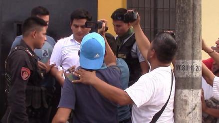 Parricida de Yurimaguas fue detenido cinco segundos después de salir en libertad