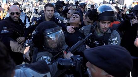 Dos muertos y decenas de heridos en Cisjordania, Jerusalén y Gaza por protestas