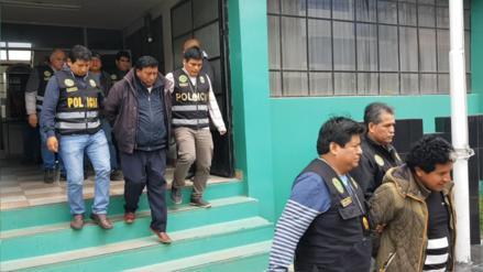Exalcalde y abogados detenidos por presunto tráfico de terrenos en Huancayo