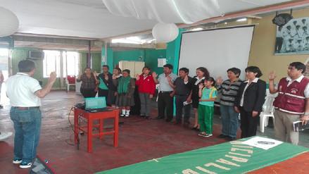 Autoridades se unen para luchar por una mejor educación en Reque