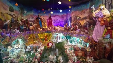 Histórico nacimiento navideño se exhibe en templo de La Merced