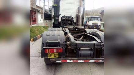 La Oroya: roban 28 toneladas de leche tras asalto en la Carretera Central