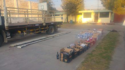 Incautan más de 500 botellas de licor de contrabando en Arequipa