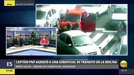 La madre de la policía agredida pide ayuda para viajar a Lima