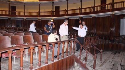Chiclayo: restauración de Teatro 2 de Mayo sigue postergada
