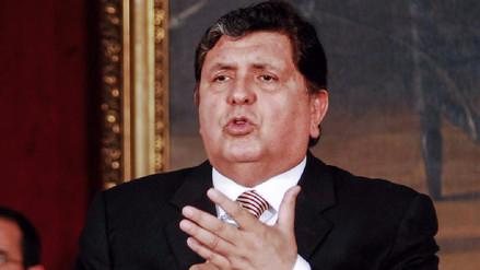 Alan García responderá a la Comisión Lava Jato este lunes