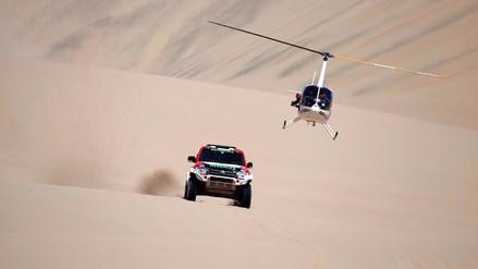 Nicolás Fuchs y Diego Weber se alistan para el Rally Dakar 2018