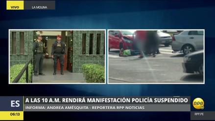 El policía que golpeó a una colega pasó la noche en el calabozo de la Comisaría de Santa Felicia
