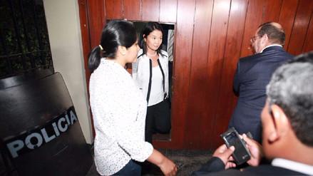 Aparecen imágenes del allanamiento a Fuerza Popular con Keiko Fujimori