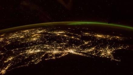 Un astronauta expone la belleza de la Tierra vista desde el espacio