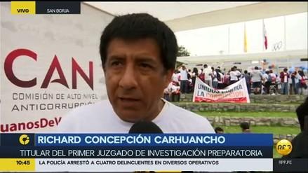 "Concepción Carhuancho: ""No actúo bajo presión política, económica ni ideológica"""