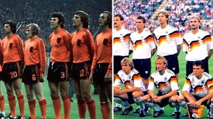 Las mejores camisetas en la historia de los Mundiales