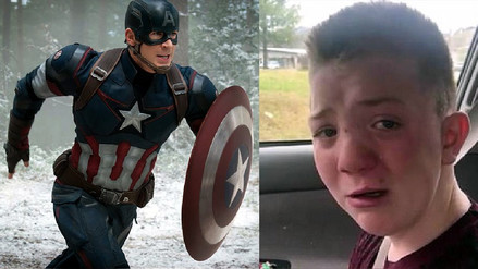 Avengers Infinity War: Chris Evans invitó a niño que sufre bullying a premiere