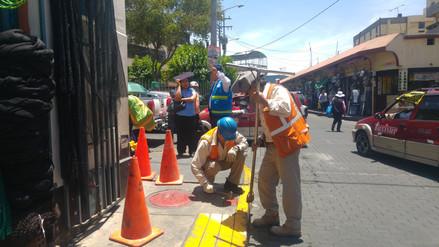Supervisan hidrantes para garantizar seguridad durante fiestas de Navidad y Año Nuevo