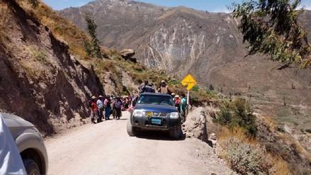 Aún no remiten informe de accidente protagonizado por alcalde de Charcana