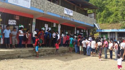 Cuatro nuevos distritos de Junín y Huancavelica ya cuentan con nuevas autoridades