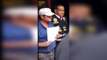 Alcalde de Tarma fue detenido por ignorar reincorporación de trabajador
