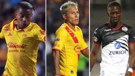 Conoce a los 13 peruanos que juegan en el fútbol mexicano