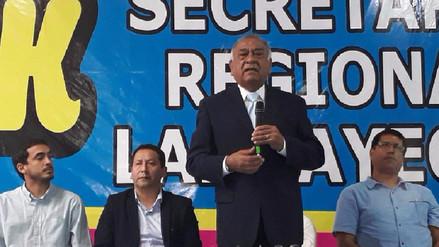 Lambayeque tiene ausencia de liderazgo indica exalcalde Arturo Castillo