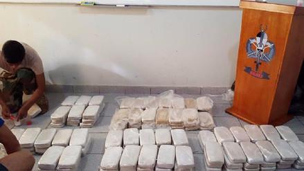 Decomisan más de 120 kilos de droga al intervenir vehículos en Caravelí