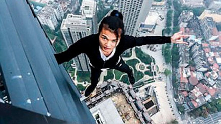 Wu Yongning, el escalador chino que grabó su muerte al caer de un edificio de 63 pisos