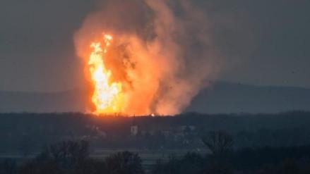 Una explosión en terminal de gas en Austria dejó un muerto e interrumpió el suministro
