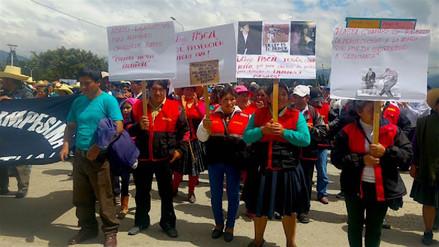 Rondas protestan ante constantes denuncias por el trabajo que desarrollan