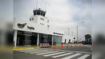 Mal tiempo impide arribo de ministro Giuffra a aeropuerto de Trujillo