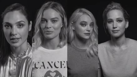 Figuras de Hollywood se unen en campaña contra el acoso sexual