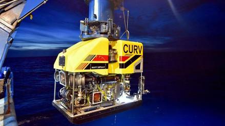 Investigan si un objeto hallado a 700 metros de profundidad es el submarino desaparecido