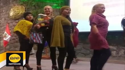 Internas de penal de Quencoro participaron de desfile de modas