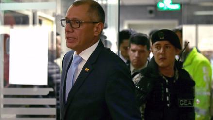 Seis años de cárcel a vicepresidente de Ecuador por recibir dinero de Odebrecht