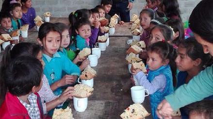 Organizan chocolatada para 14 mil niños de 138 comunidades cutervinas