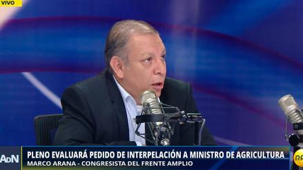"""Marco Arana: """"Los ciudadanos de Zarumilla están comprando agua potable a Ecuador"""""""
