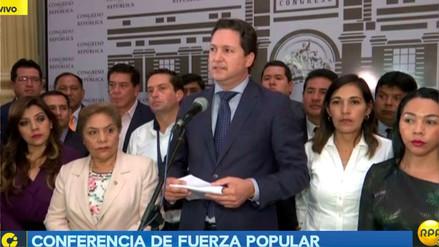 Fuerza Popular a PPK: