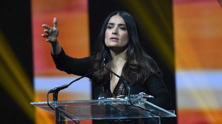 Salma Hayek denuncia que Weinstein la acosó y amenazó de muerte