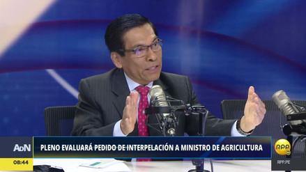 """José Hernández: """"Estamos supervisando el trabajo de la empresa Viviana"""""""