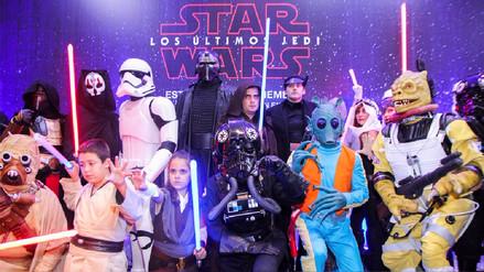 FOTOS | Star Wars: Así fue el avant premiere de 'Los últimos Jedi' en Perú