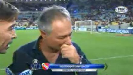 """DT de Independiente: """"Es un sueño y no me quiero despertar"""""""