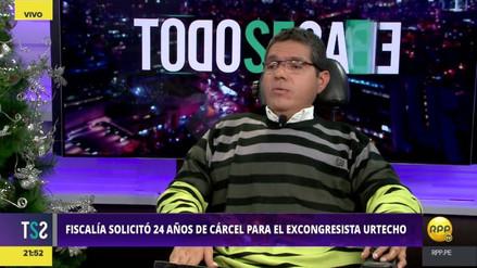 """Michael Urtecho: """"El pedido de 24 años de cárcel en mi contra es desproporcionado"""""""