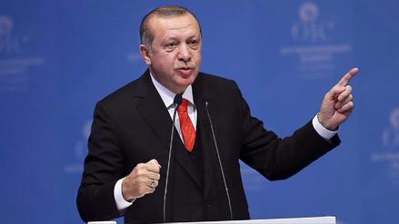 El presidente de Turquía:
