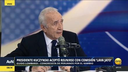 """Guido Lombardi: """"El presidente Kuczynski le debe una explicación al país"""""""