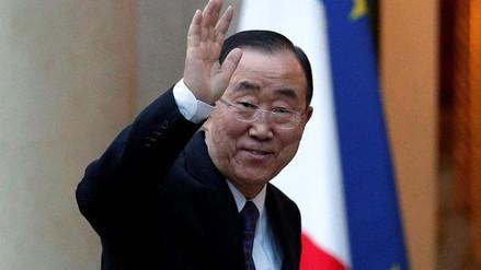 Ban Ki-moon pide a China reducir las exportaciones de crudo a Corea del Norte