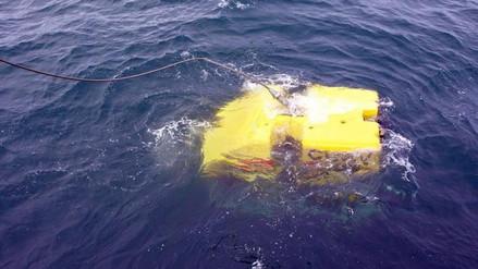 La Armada argentina analiza si tres objetos en el Atlántico son el submarino