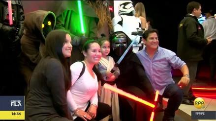 Star Wars: Así fue el estreno de Los últimos Jedi en Perú
