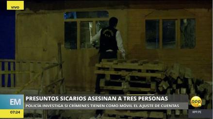 Asesinan a tres personas en Ventanilla en sendos casos de ajustes de cuentas
