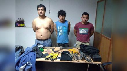 Policía frustra robo de farmacia y cajero bancario en Casa Grande