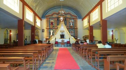Delincuentes roban objetos de iglesia de Chuquibamba en Arequipa