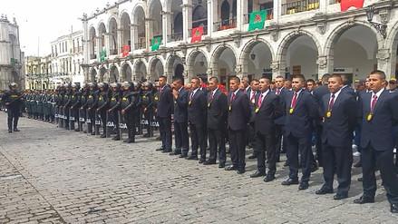 Crisis política no afecta labor de la Policía Nacional en Arequipa